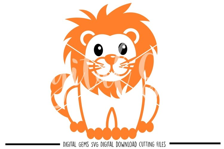 Lion SVG / PNG / EPS / DXF files