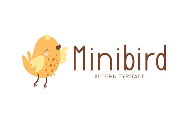 Minibird example image 1