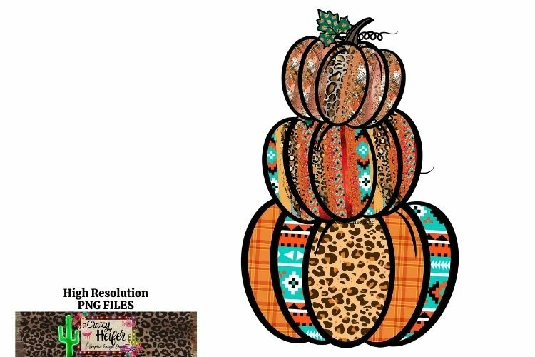 Pumpkin Southwestern Aztec ethnic Fall Autumn Halloween