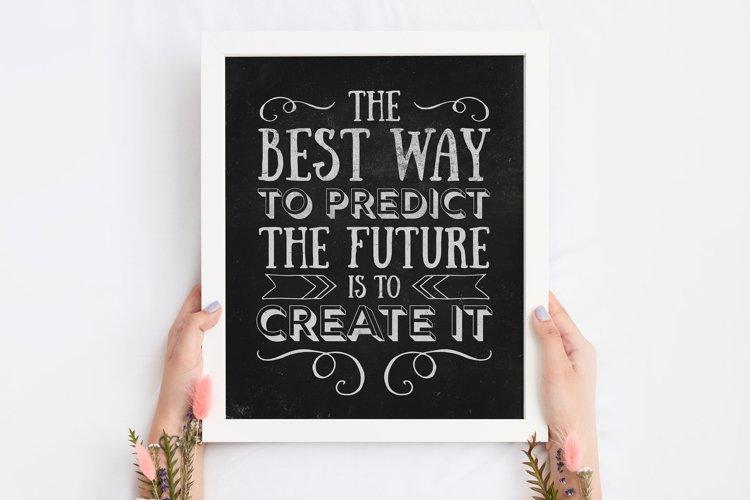 Create Your Future Lincoln Printable Quote
