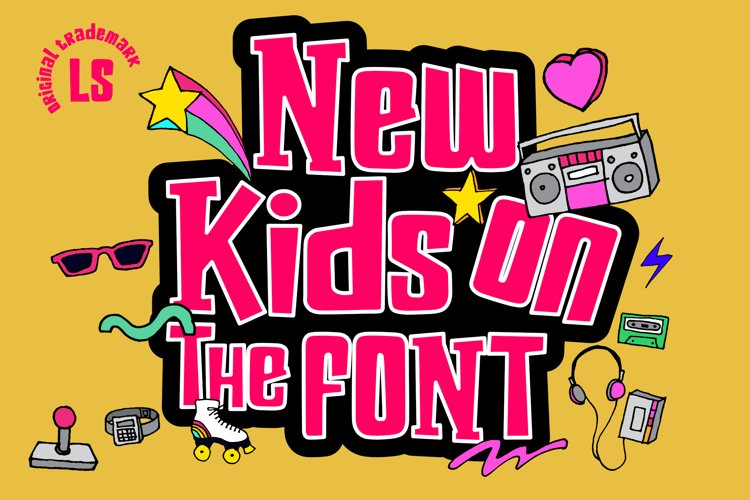 New kids on the Font example image 1