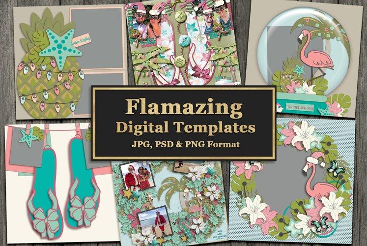 Flamazing Digital Templates example image 1