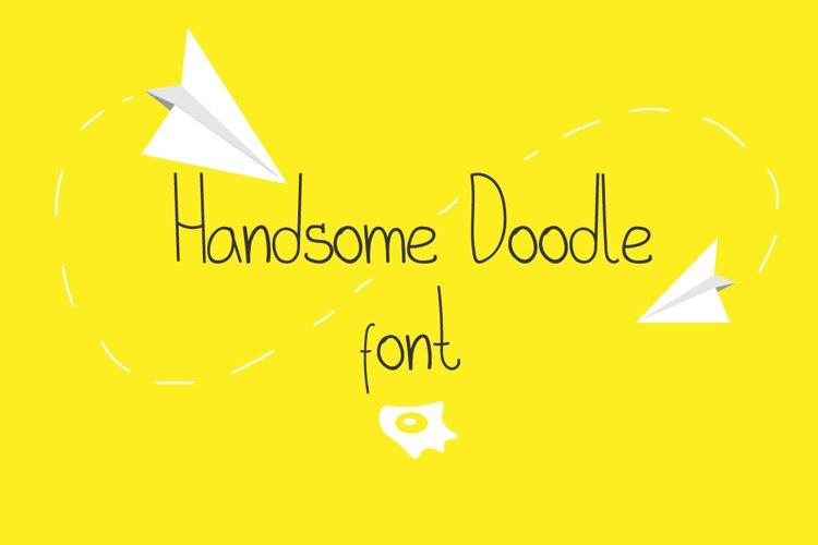 Handsome Doodle Font
