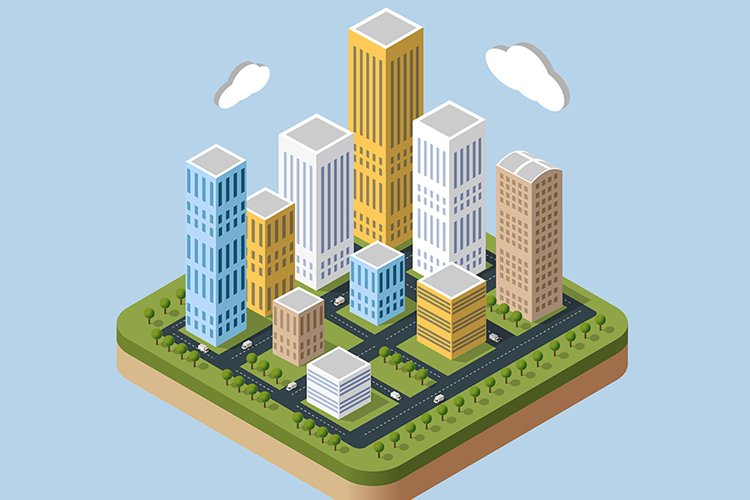 Skyscrapers and buildings example image 1