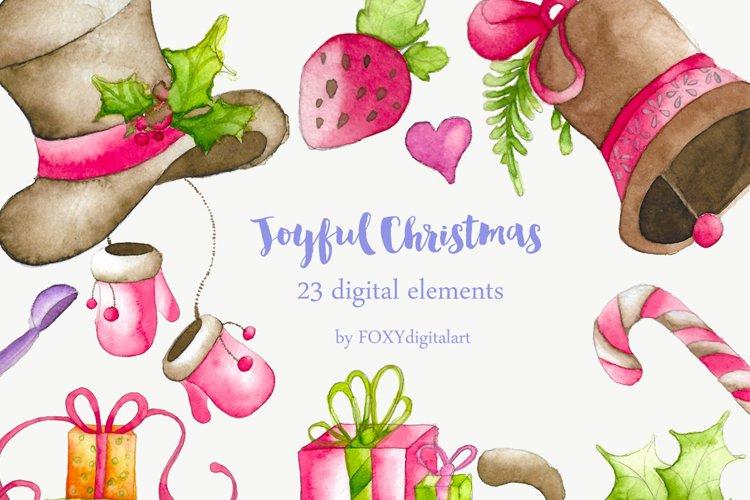 Watercolor winter clip art - christmas watercolor clipart - watercolor  digital download - holiday clipart png - winter digital clipart #c5 | Holiday  clipart, Christmas watercolor, Clip art