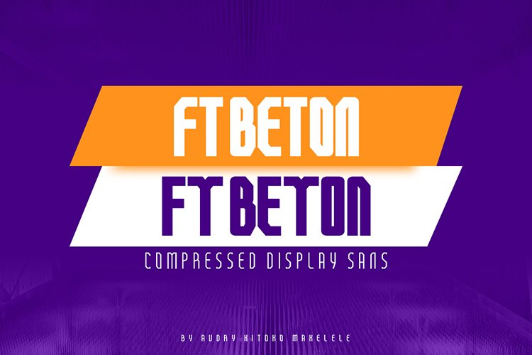 FT Beton Compressed example image 1