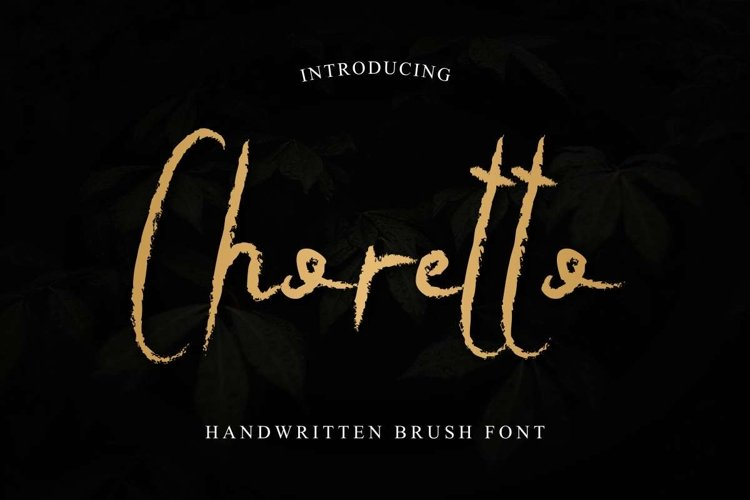 Choretto example image 1