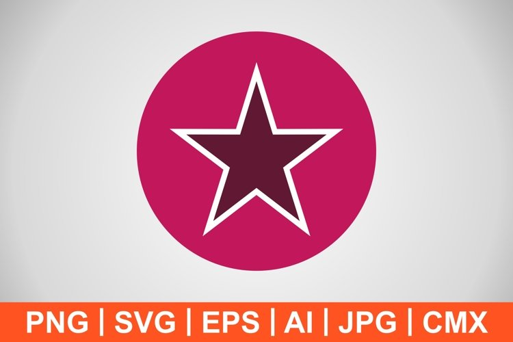 Vector Star Icon example image 1