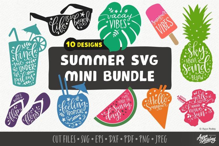 Summer SVG Mini Bundle   SVG Summer Bundle   Summer Quotes