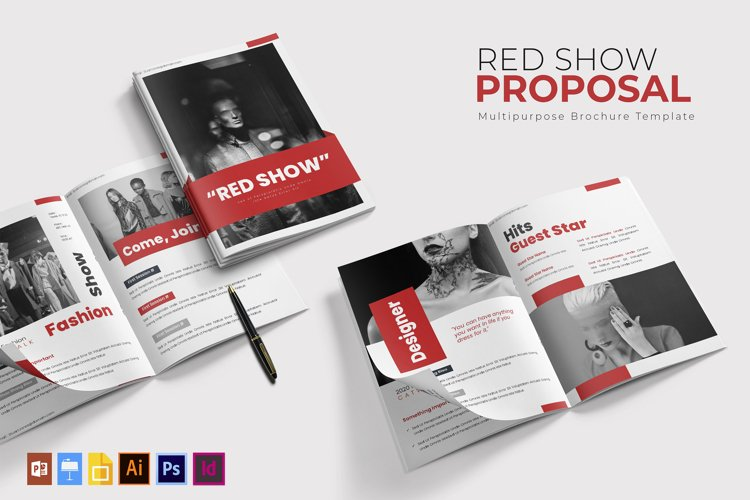 Red Show | Proposal Template example image 1