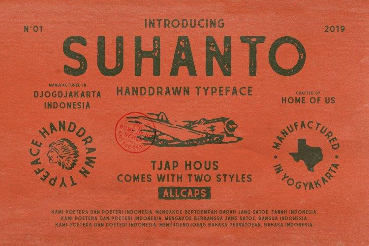 Suhanto Handdrawn Typeface example image 1