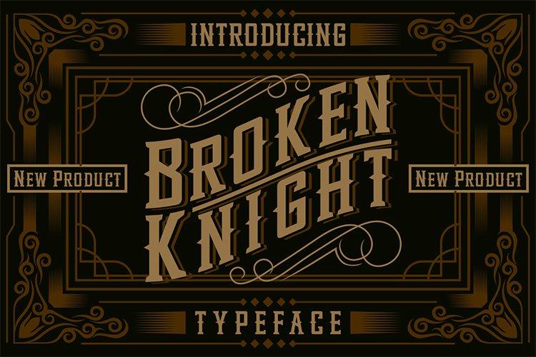 Broken Knight example image 1