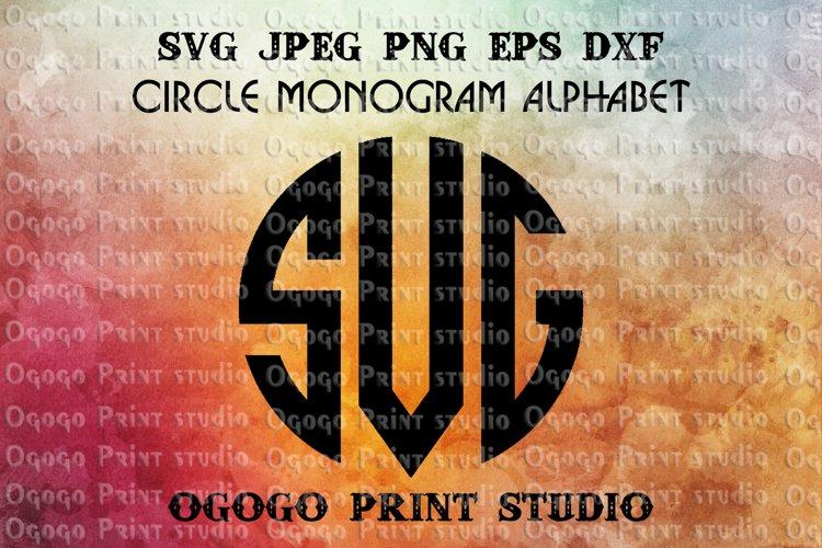 Monogram font svg, Alphabet Bundle SVG, Letter svg