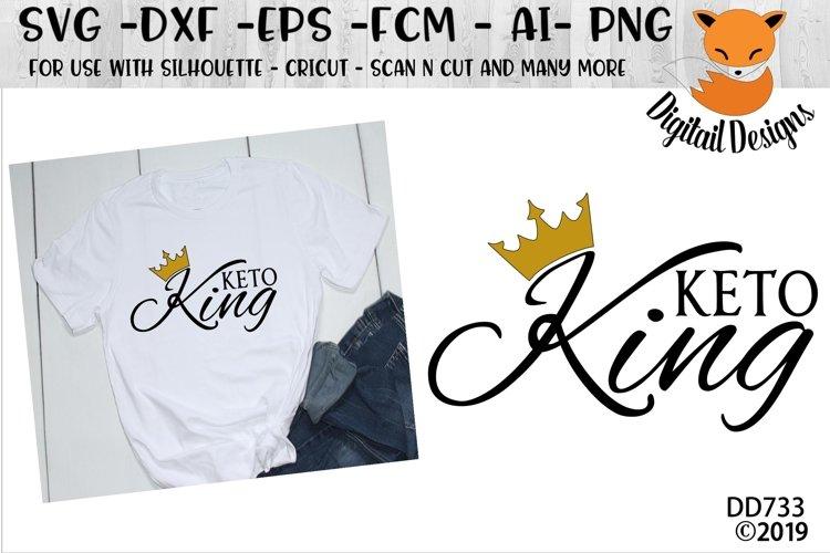 Keto King Keto Diet SVG example image 1