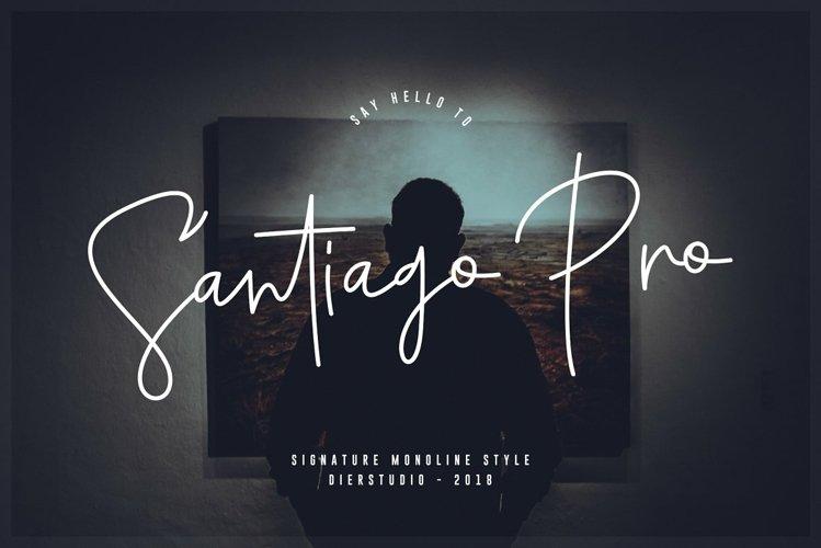 Santiago Pro example image 1