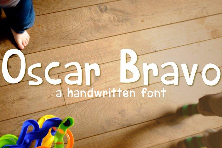 Oscar Bravo Font example image 1