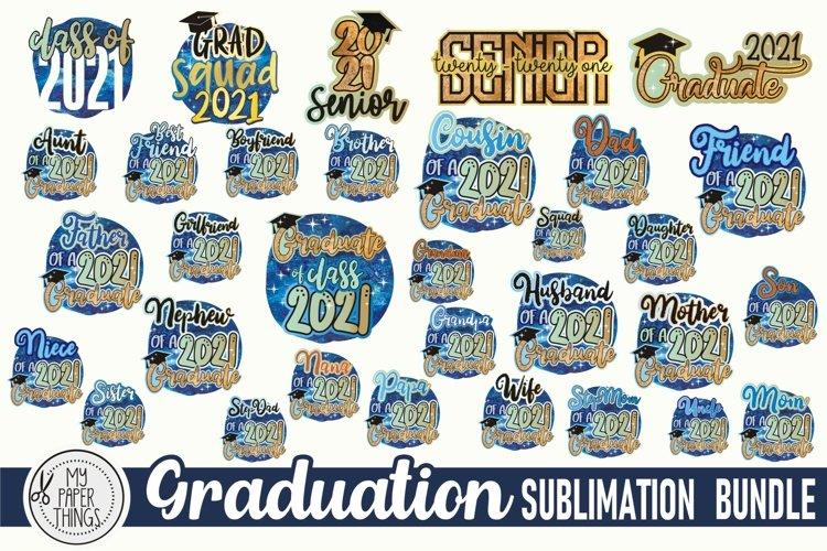 Graduation Sublimation Bundle |Graduate 2021 PNG