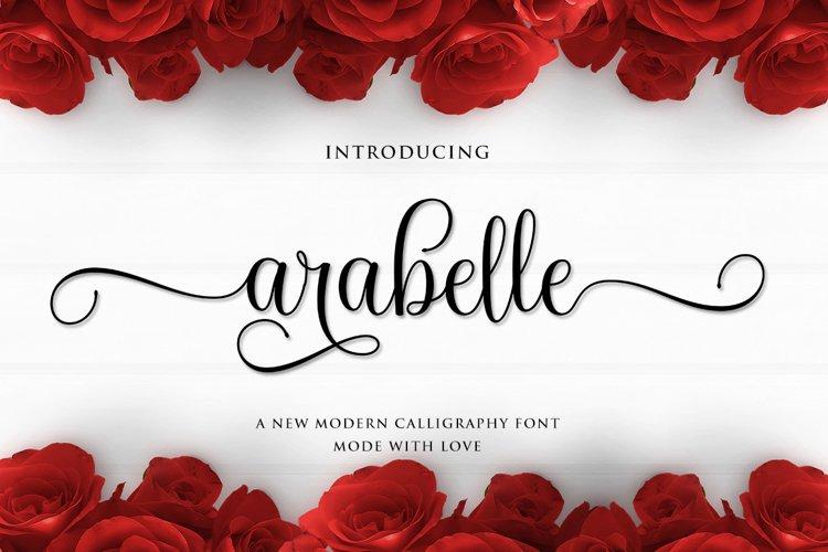 Arabella Script example image 1