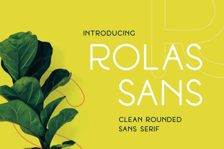 Rolas Sans - Display Font