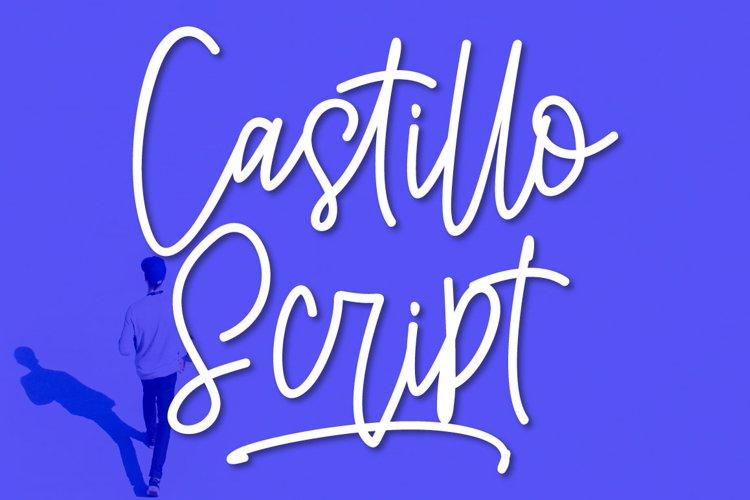 Castillo Script example image 1