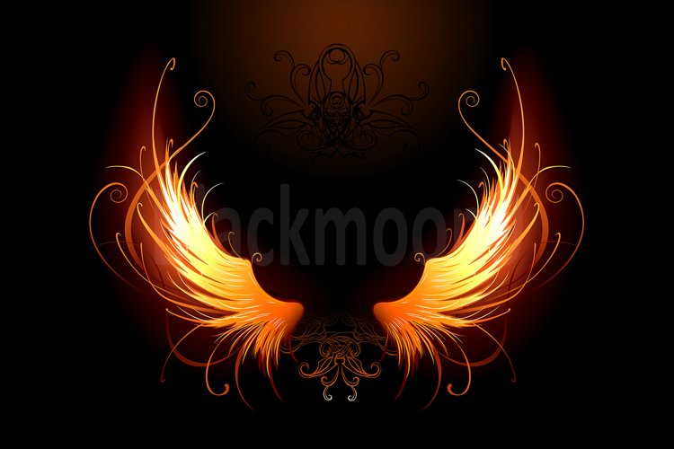 Fiery wings example image 1
