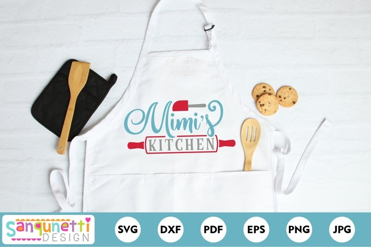 Mimis Kitchen SVG - baking and cooking