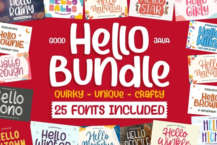 HELLO BUNDLE for all DESIGN CRAFTER