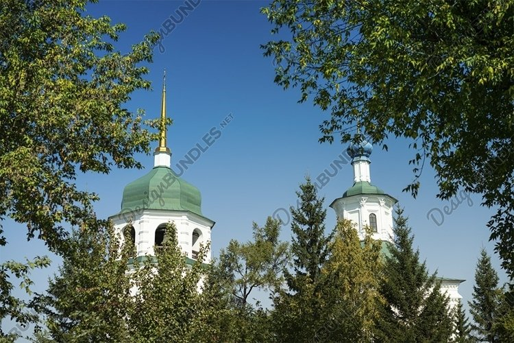 City landscape with a view of the Znamensky convent example image 1