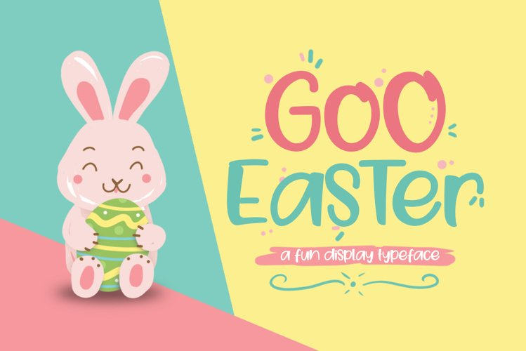 Goo Easter Font example image 1