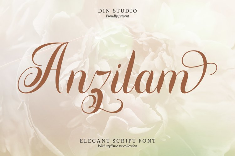 Anzilam-Elegant Calligraphy Font example image 1