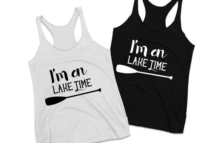 I'm on lake time paddle example image 1