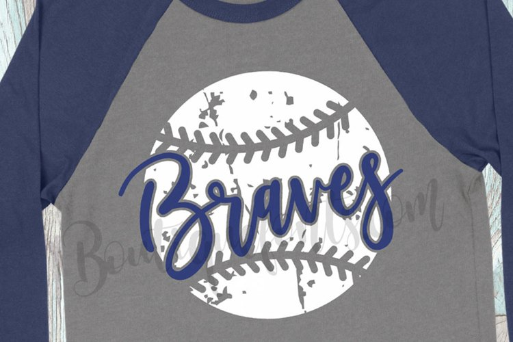 Braves Baseball SVG
