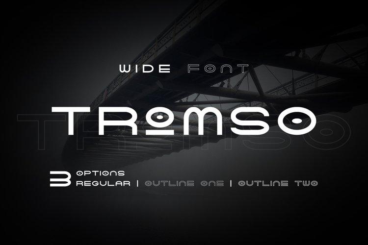 Tromso - Wide Font