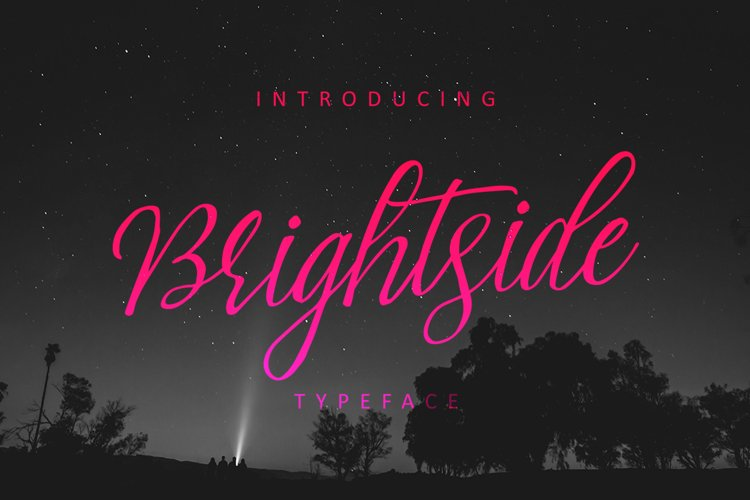 Brightside Typeface - Free Font of The Week Font