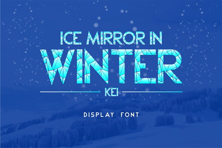 Ice Mirror in Winter Kei example image 1