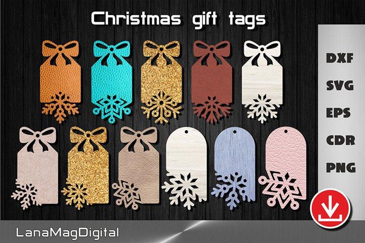 Christmas tags svg Gift tags svg Christmas winter decor