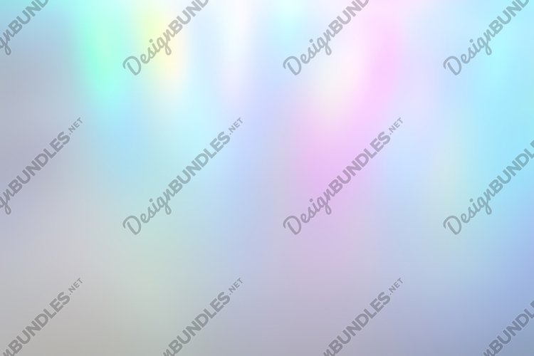 Iridescent holographic abstract pale colors background light example image 1