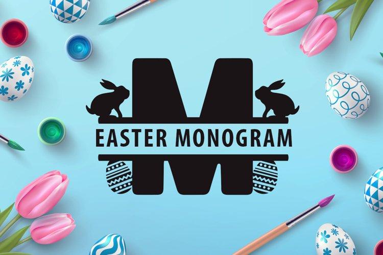 Easter Monogram example image 1
