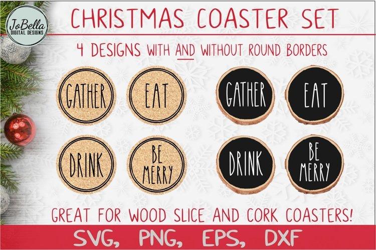 Christmas Coaster SVG Bundle