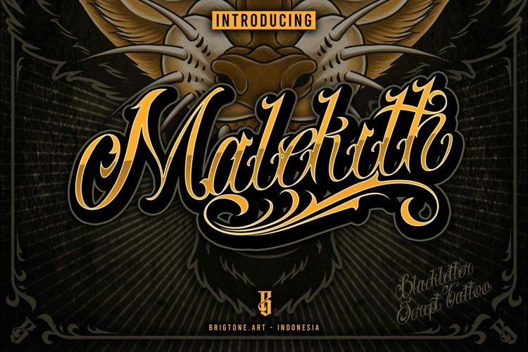 Malekith | Tattoo Script example image 1