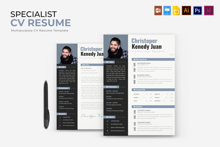 Specialist | CV & Resume example image 1