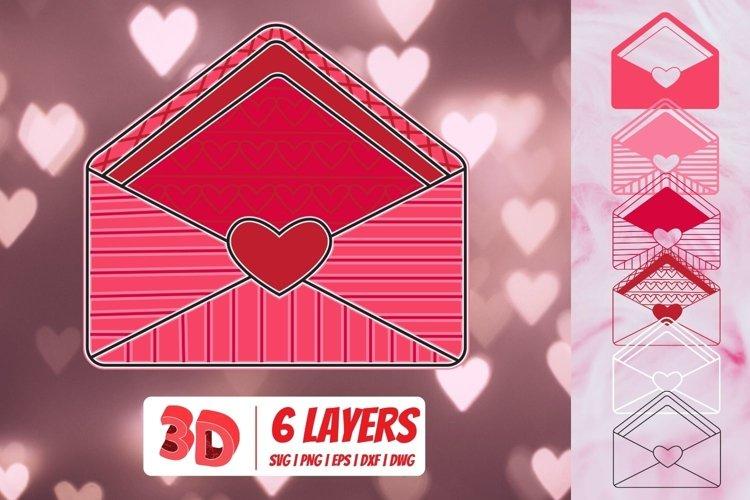 Download 3d Valentines Envelope Svg Valentines Day Mandala 1134267 Paper Cutting Design Bundles