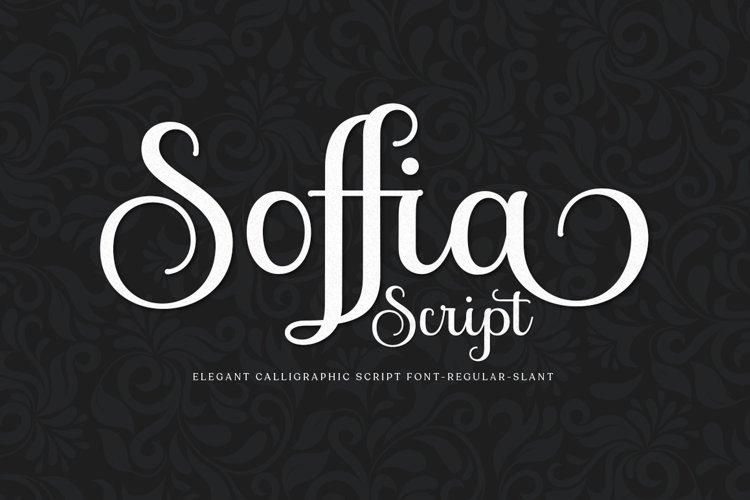 Soffia Script example image 1