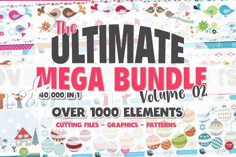 Ultimate Craft Bundle | svg | graphics | sublimation |Vol.02