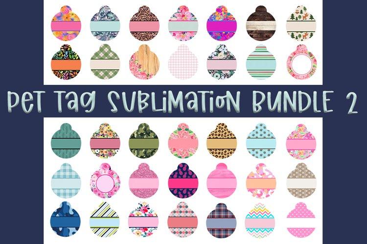 Pet Tag Sublimation Templates - 35 different designs