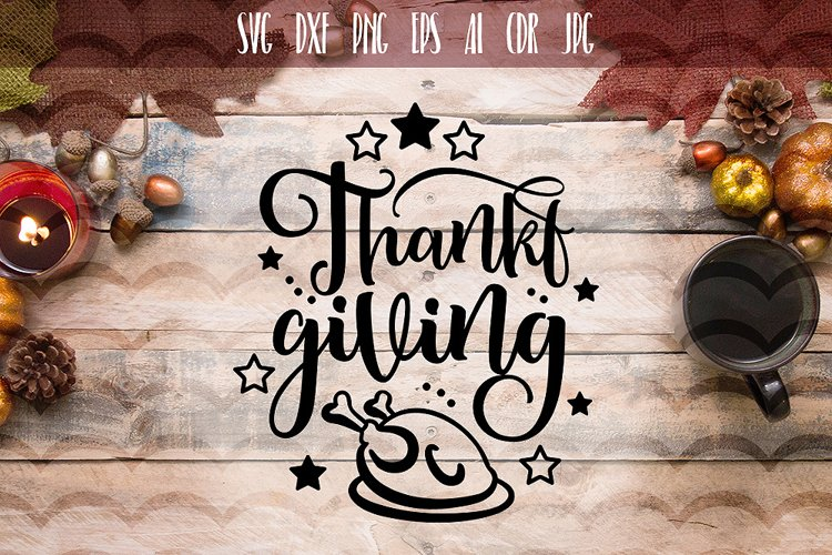 Thanksgiving Sayings SVG example image 1