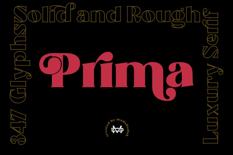 Prima - Luxury Typeface example image 1