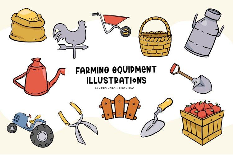 Farming Equipment illustrations example image 1