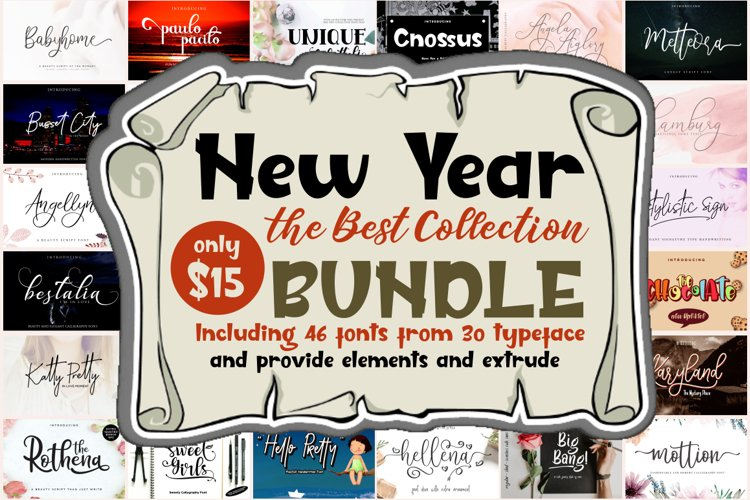 New Year Collection Bundle example image 1