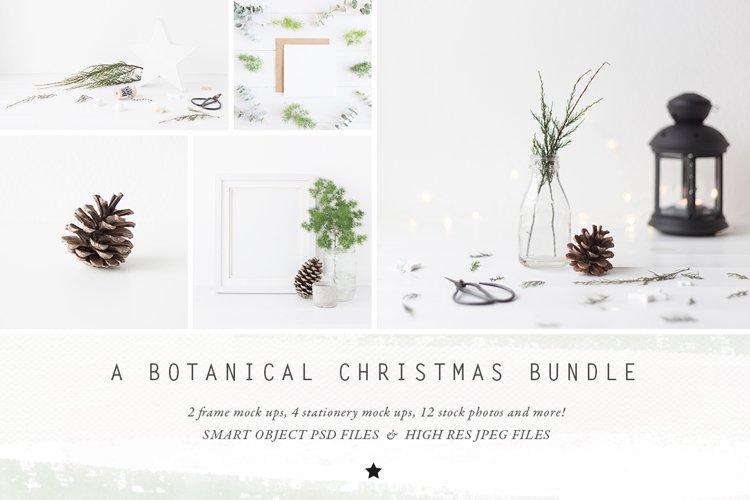 The Botanical Christmas Mockup Bundle example image 1
